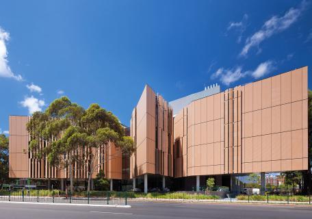 fachada edificio University of new South Sales Sydney