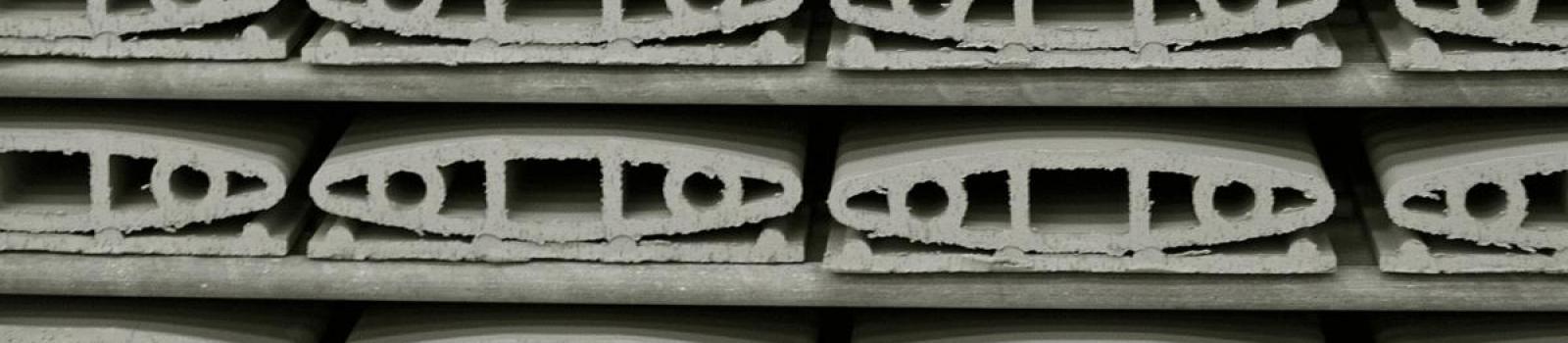 detalle piezas ceramica fachada ventilada