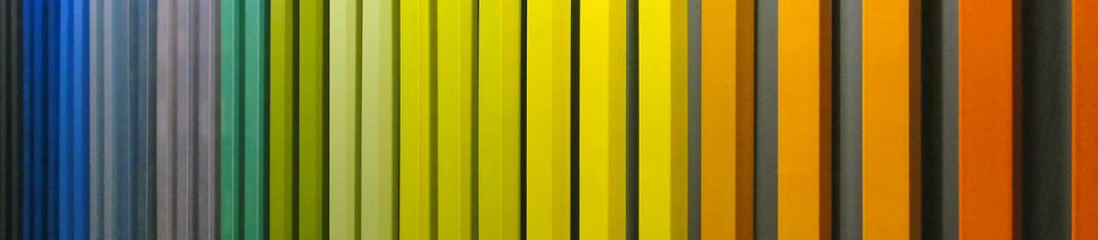 Fachadas edificios colores