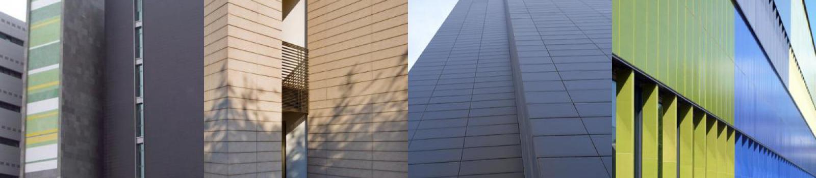 Colores en fachadas ventiladas